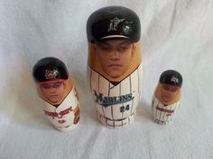 MIGUEL CABRERA NESTING DOLL-#24-SGA MARLINS-DETROIT TIGERS-VERY CLEAN, INTACT…