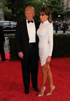 Melania Trump - Melania Trump Photos - Celebs at the Costume Institute Benefit Gala 2012 at The Met - Zimbio Pictures Of The Week, New Pictures, First Lady Melania Trump, Trump Melania, Trump Photo, Malania Trump, Costume Institute, Air Force Ones, Donald Trump