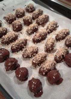 Greek Desserts, Cake Cookies, Truffles, Sweet Recipes, Almond, Deserts, Food And Drink, Gluten Free, Sweets
