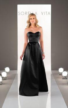 8653 Satin Bridesmaid Dress by Sorella Vita