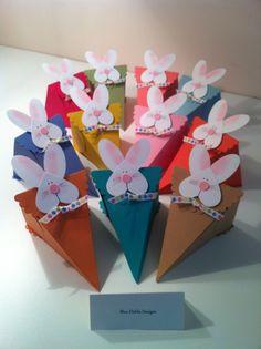 Easter+Bunny+Petal+Cone+Baskets.jpg (1195×1600) #pasqua