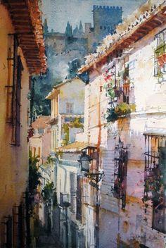 Geoffrey Wynne Watercolors - Watercolours: March 2012
