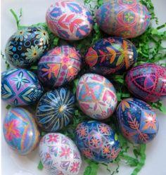 Beautiful Pysanka, Pysanky Ukrainian Easter Eggs by; UKRAINIANEASTEREGGS on Etsy