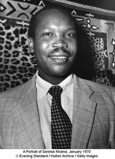Seretse Khama Quotes: A Portrait of Seretse Khama, January 1970