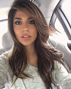Pia Miller pictures and photos Celebrity Beauty, Mi Long, Dark Hair, Pretty Hairstyles, Pretty Face, Hair Looks, Hair Inspo, Look Fashion, New Hair