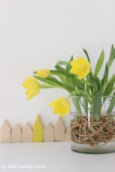 kebo homing: Tulpen für die Küche...