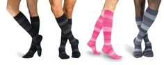 Why buy ugly compression stockings, when you can get colorful ones. Compression Stockings, Most Popular, Colorful, Stuff To Buy, Varicose Veins, Legs, Popular