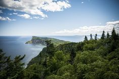 Forillon National Park in Quebec Canada in beeld