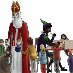 Sinterklaas by SpitfiresOnIceB, Digital Art