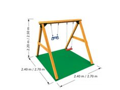 Jungle Gym Schommelset Swing 250 cm - Schommels - Schommels