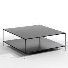 Vierkante salontafel in metaal, Yram AM.PM.