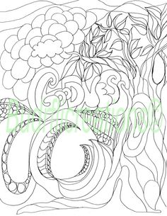 Goodness Fruits of the Spirit Adult Coloring by Budrflicreations