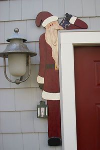 "primitive wood christmas patterns | Christmas Holiday Primitive Wood Craft Pattern ""Nick"" 40 Inches | eBay"