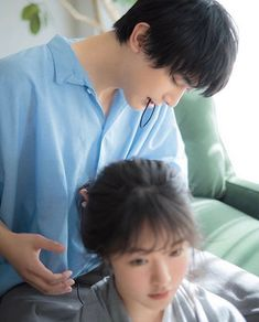 Japanese Couple, Japanese Drama, Japanese Boy, Asian Celebrities, Asian Actors, Real Couples, Cute Anime Couples, Ryo Yoshizawa, Handsome Actors