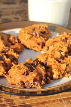 Pumpkin Drop Cookies Recipe - Only 3 ingredients. They are delicious and I love that they are low-fat and packed with vitamins from the pumpkin!