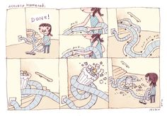 Noooo! Cute comic by Seo Kim