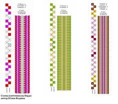 Wall Inkle Weaving Patterns, Loom Weaving, Loom Patterns, Card Weaving, Tablet Weaving, Finger Weaving, Inkle Loom, Braids With Weave, Weaving Projects