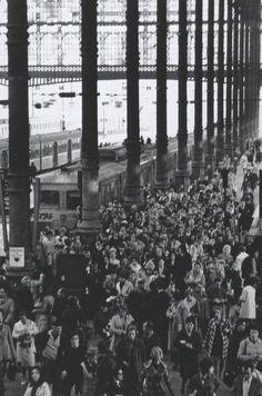 Robert Doisneau - Gare du Nord