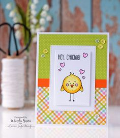 Simon Says Stamp March 2017 Card Kit Some Bunny. Card by Wanda Guess