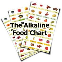 List Of Alkaline Foods