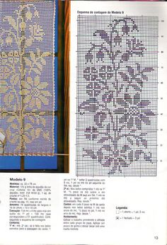 Gallery.ru / Фото #185 - Crochet Filet pour Point de Croix 1 - Mongia