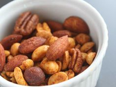 Chili and Lime Seasoned Nuts