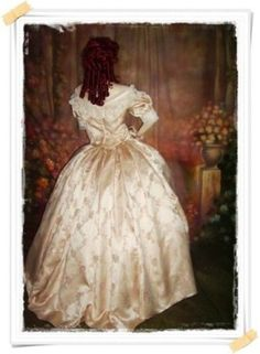 Historical Dress Gallery. Girls fashion, Christening Gowns, Victorian Civil War Dresses,Victorian ballgown,Southern Belle dress, Reenacting costumes, antique dress, vintage clothing,