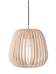 Ay illuminate - Lampe - Finition naturelle designed by mark eden schooley Sisal, Lamp Light, Light Up, Ay Illuminate, Lights Please, Suspension Design, Wood Lamps, Organic Shapes, Light Decorations