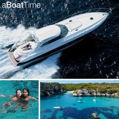 Rent the Sunseeker Predator 58 and sail around Ibiza and the Balearic Islands whilst living in comfort, luxury and style! #sailing #holiday #fun#sun #sea #relax #chill #family #friends#party #eat #tasty #sunbathe #ibiza #balearic #islands #sunseeker #predator #58 #dream#hols #goals #amazing #travelling#aBoatTime