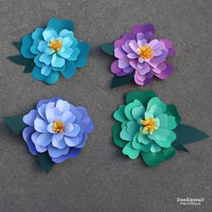 Giant Peony Flowers!    These are beautiful!  They make a great photo or party backdrop!  They would be gorgeous as decorations!  They w...