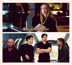 Why I love Legends so much: Superheroes, Lord of the Rings, and then Backstreet Boys jokes all in one. You never know what to expect, and that's great. :D |TV Shows|CW|DC's Legends of Tomorrow|LoT|Sara Lance|Mick Rory|Nate Heywood|Ray Palmer|Rip Hunter|Caity Lotz|Dominic Purcell|Nick Zano|Brandon Routh|Arthur Darvill|#DCTV|Superhero funny|