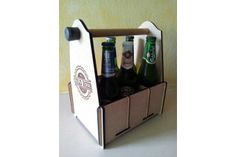 Beer Caddy by Paperkutz