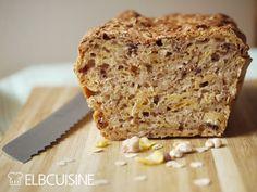 Baked Goods, Banana Bread, Homemade, Snacks, Baking, Desserts, Food, Oatmeal, Eten