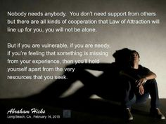 If you are needy...
