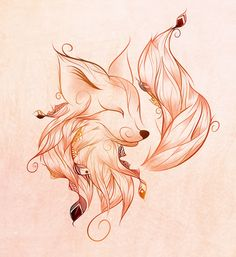 #fox #drawing #pretty #print