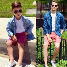 Mother Dresses Her 4 Year Old Son like a Male Fashion Model, Resulting In The Coolest Looking Kid Ever