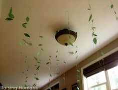 """""""and his ceiling hung with vines"""" at a Where the Wild Things Are birthday party"""