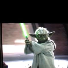 Say what you like about the prequels, but theres no denying how kick ass Yoda looks with his Lightsaber.