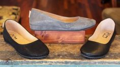 We are proud to announce that we are now carrying French Sole, FS/NY!  The Zeppa is stylish and comfortable, with a padded insole and a little wedge for height.  Flexible Rubber Sole, all Leather Upper, and Made in Italy.  Available in Black Napa, Black Wave, and Taupe (Grey) Wave.  $134.95  http://elosshoes.com/