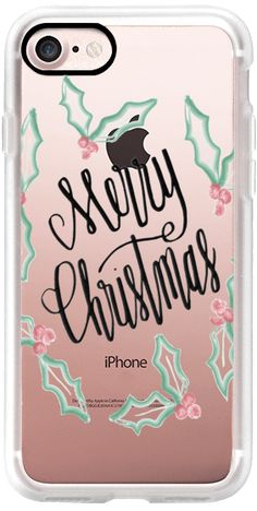 Casetify iPhone 7 Classic Grip Case - Merry Christmas! by ginger #Casetify