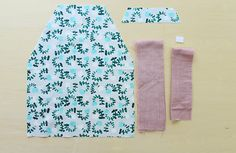 子ども(キッズ)用エプロンの作り方 Floral Tie, Sewing, How To Make, Fashion, Japanese Clothing, Moda, Dressmaking, Couture, Fashion Styles