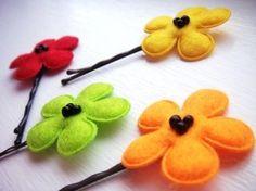 cute hair pin ideas!