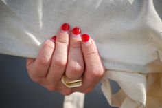 13 Of The Coolest Nail Trends From Fashion Week #refinery29 #grownoutcrimson