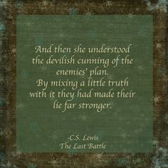 cs lewis quotes a little truth
