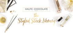 haute chocolate ~ stylish stock photography for women entrepreneurs, bloggers and creative professionals ~
