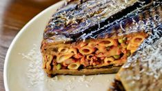 sicilian ti,ballo recipes - Google Search Eggplant Caponata, Eggplant Pasta, Grilled Eggplant, Timbale Recipe, Sausage Pie, Classic Italian Dishes, Frozen Peas, How To Cook Pasta, Tomato Sauce