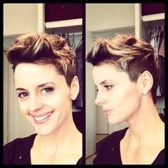 Proper Pixie Cuts: Photo Love the side view