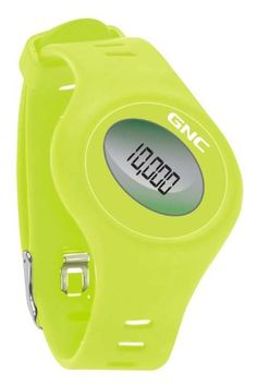 GNC Bluetooth Waist Clip and Watch Band Pedometer, Green -- Want to know more, click on the image.
