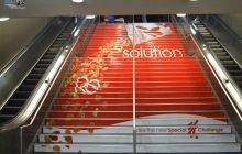 SPECIAL K at Penn Station Stair Advertising