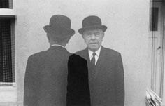 René Magritte. Duane Michals, courtesy Pace/MacGill Gallery, New York